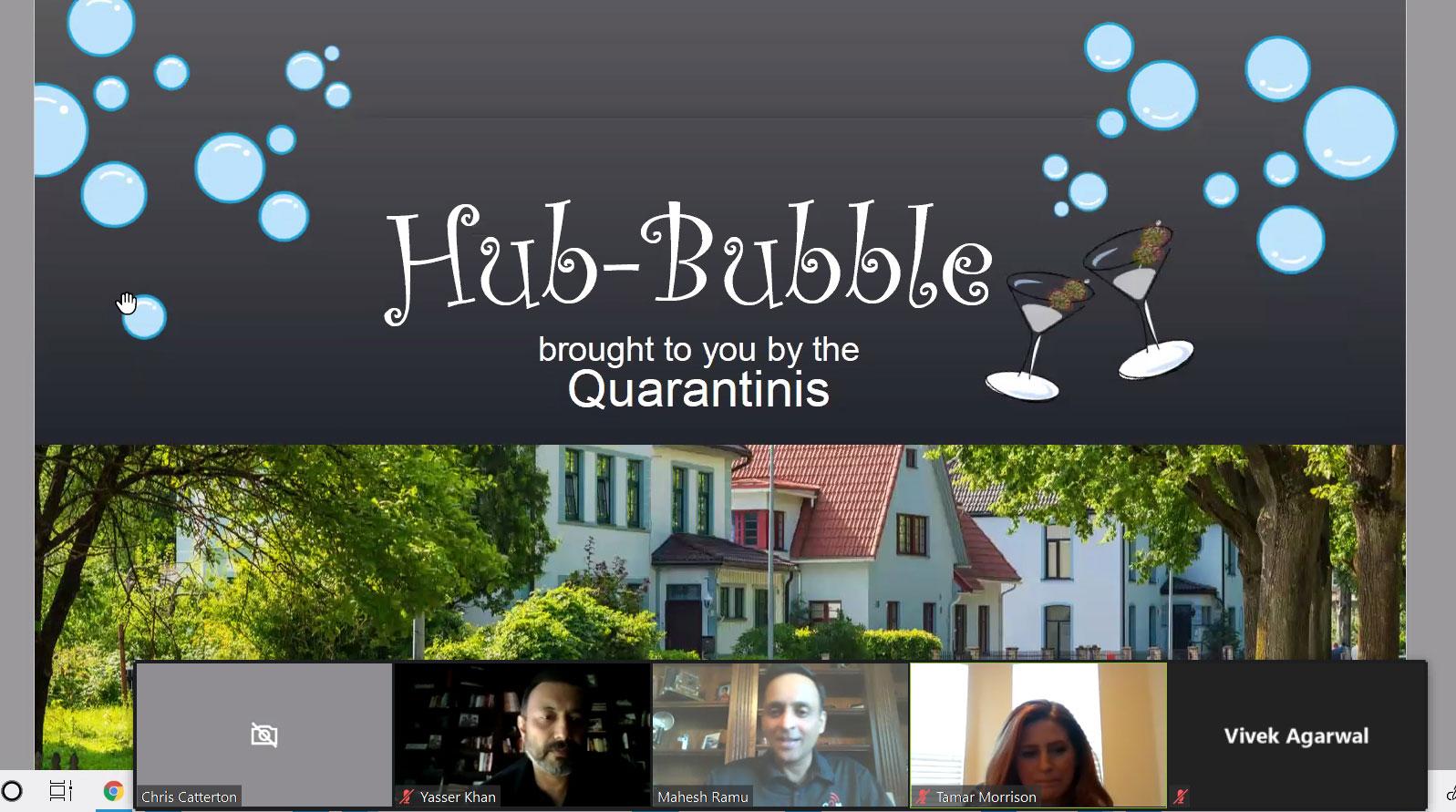 Hub Bubble